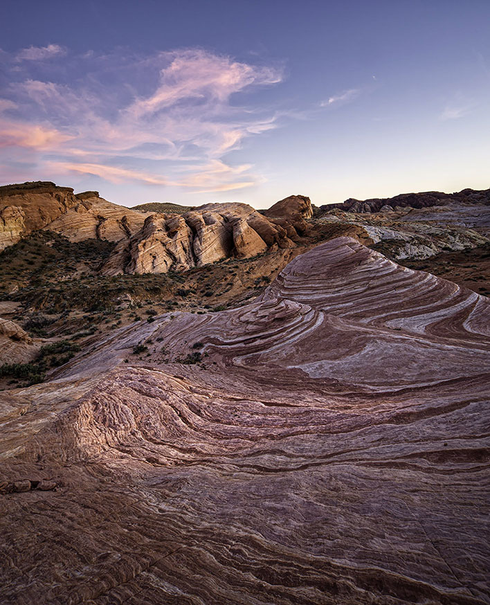 Landscape & Nature: Pink Sunset Valley Of Fire