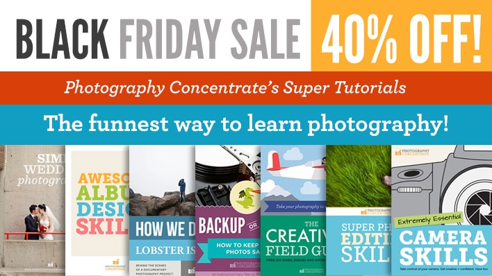 Photography Concentrate Black Friday 2013