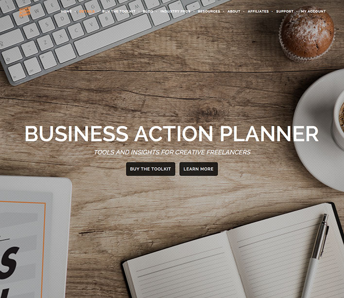 Business Action Planner by Corwin Hiebert